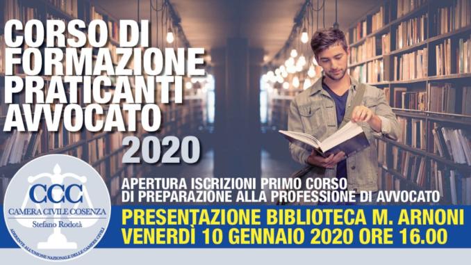 Corso di Formazione per Praticanti Avvocato Cosenza 2020